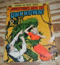 Adventures Into the Unknown #32 comic g/vg 3.0