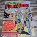 Authentic Police Cases #13 comic vg+ 4.5