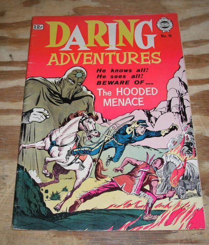 Daring Adventures #15 comic fn/vf 7.0