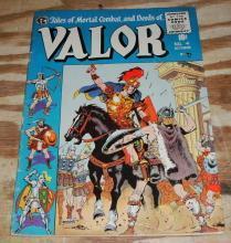 Valor #4 comic fine 6.0