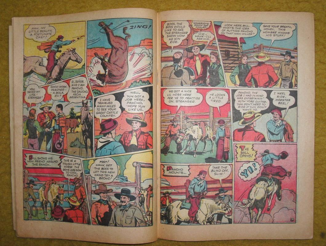 Dick Cole #8 comic vg 4.0