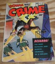 Down With Crime #1 comic good 2.0