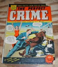 Perfect Crime #5 comic g/vg 3.0