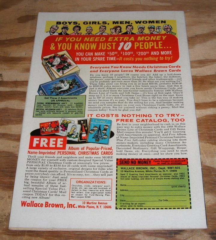 Fantastic Four #79 comic book fine/very fine 7.0