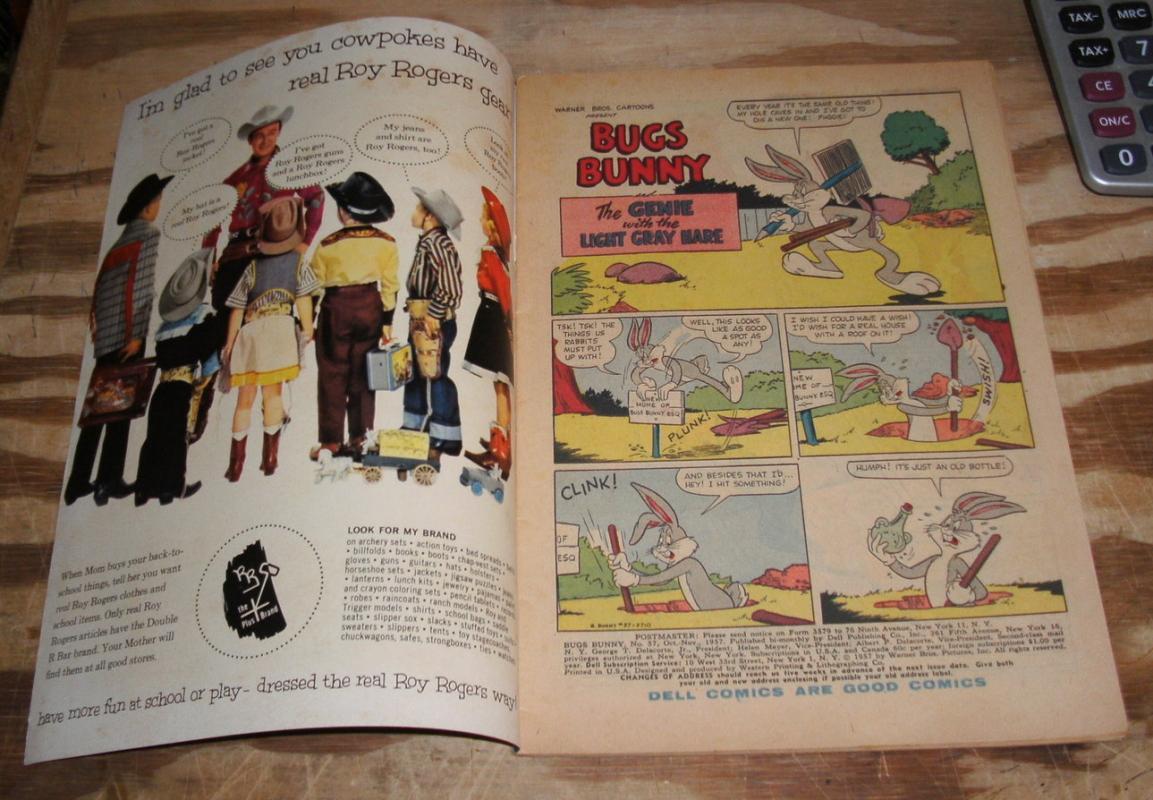 Bugs Bunny #57 comic book fn 6.0