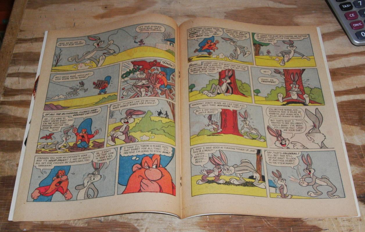 Bugs Bunny #57 comic book fn 6.0