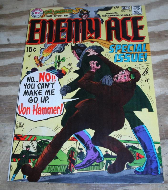 Star Spangled War Stories presents Enemy Ace #146 comic book very fine 8.0