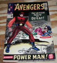 The Avengers #21 comic book vg/fn 5.0