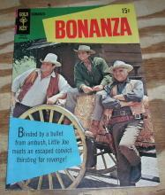 Bonanza #30 comic book fn 6.0