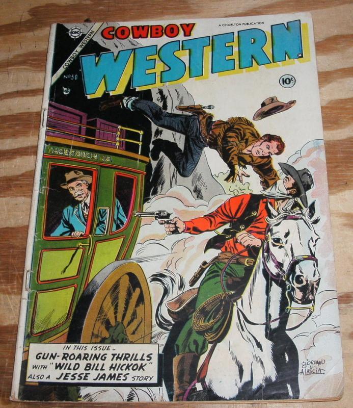 Cowboy Western #50 very good/fine 5.0