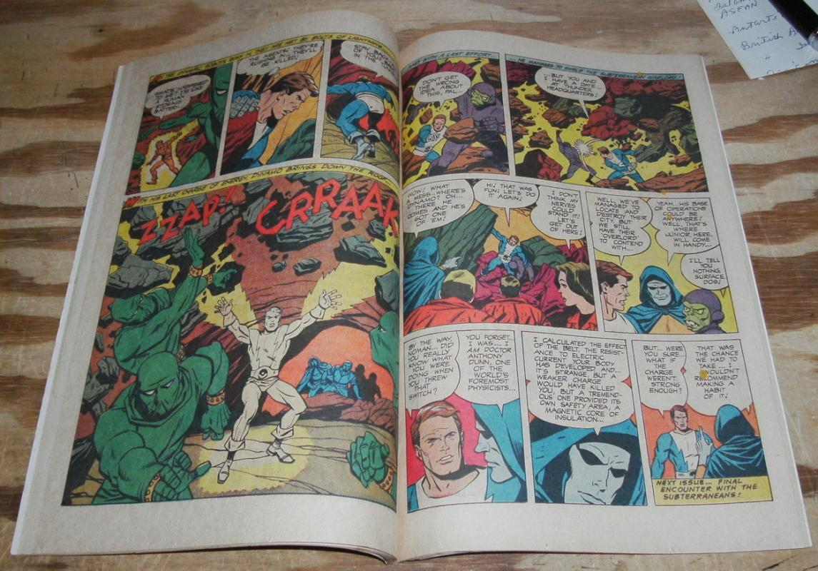 T.H.U.N.D.E.R. Agents #7 comic book  fn/vf 7.0