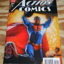 Action Comics #800 double sized issue comic book near mint 9.4