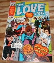 Our Love Story #10 comic book fine 6.0