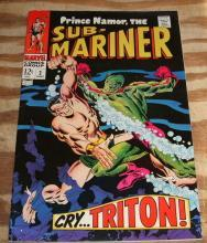 Sub-Mariner #2 comic book fn/vf 7.0