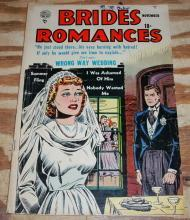 Brides Romances #1 romance comic book g/vg 3.0