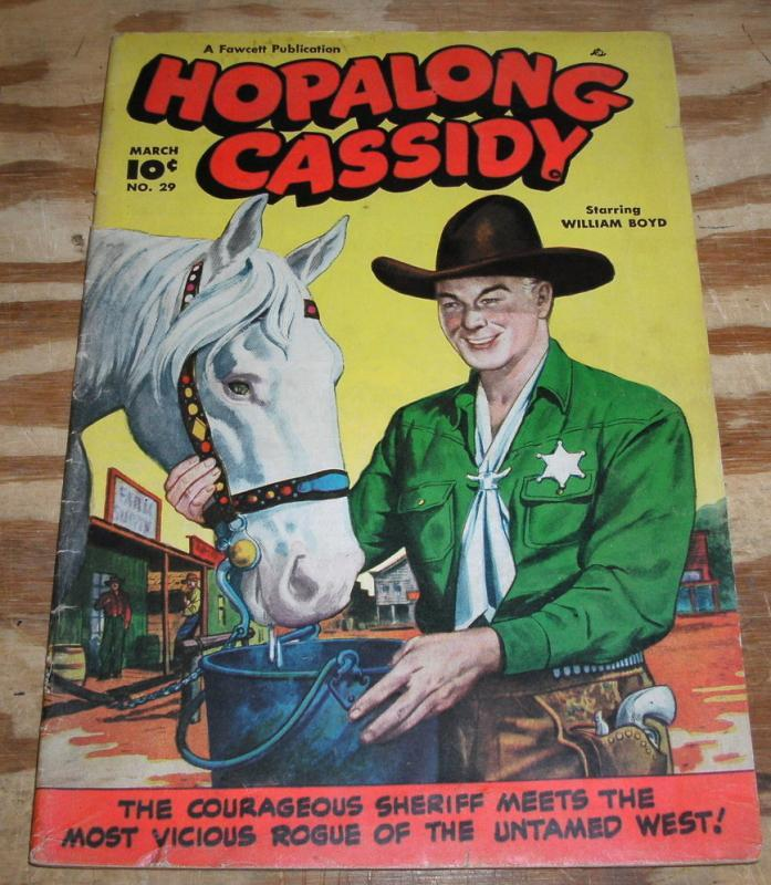 Hopalong Cassidy #29 comic vg/fn 5.0