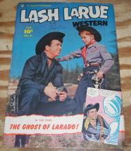 Lash Larue #31 comic fn 6.0