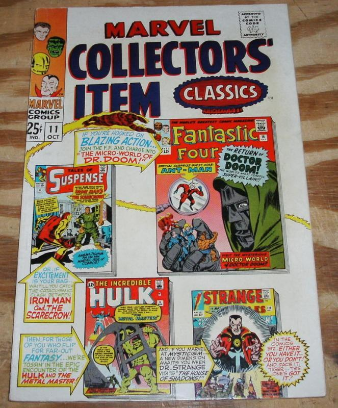 Marvel Collectors' Item Classics #11 comic book very fine/near mint 9.0
