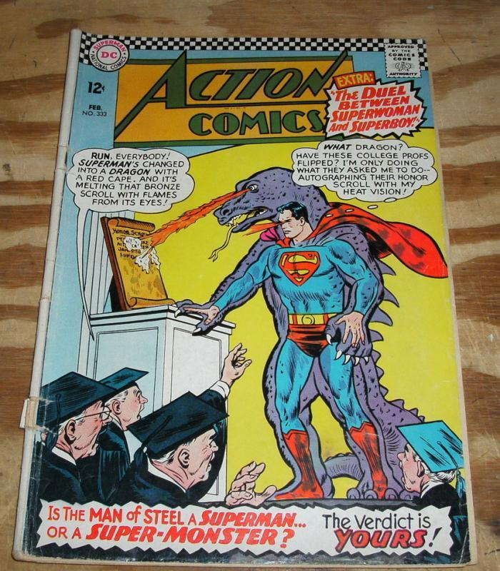 Action Comics #333 comic book vg 4.0