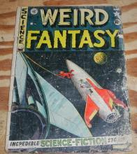Weird Fantasy #3 comic book fair 1.5