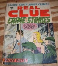 Real Clue Crime Stories vol 7 #9 comic book vg 4.0