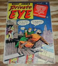 Private Eye #7 comic book g/vg 3.0