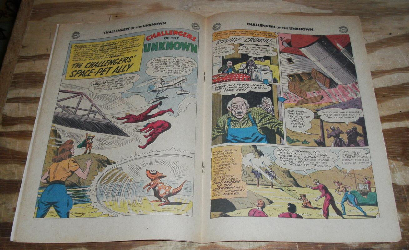 Challengers of the Unknown #21 comic book very fine/near mint 9.0