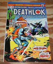 Astonishing Tales featuring Deathlok #28 comic book near mint 9.4