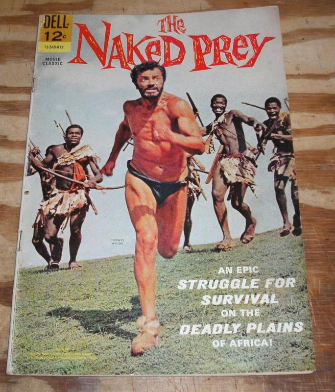 The Naked Prey Movie Classic comic fn 6.0