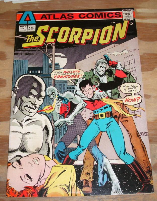 The Scorpion #2 comic book very fine/near mint 9.0