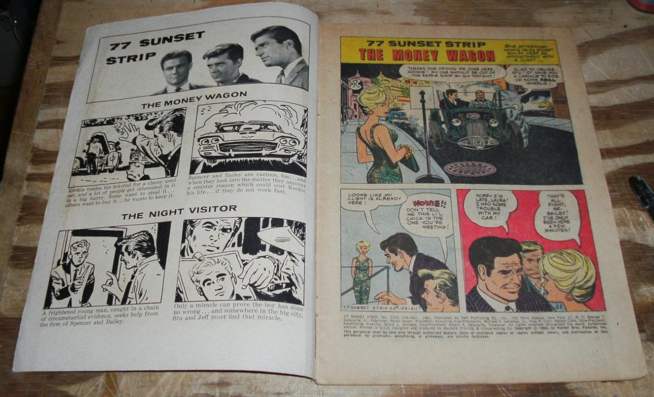77 Sunset Strip #1159 comic book vg 4.0