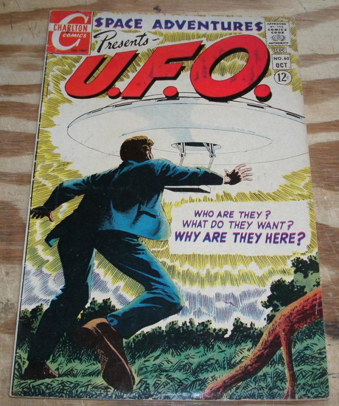 Space Adventures Presents U.F.O. #60 comic book fn 6.0