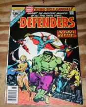 Defenders annual #1 comic book very fine/near mint 9.0