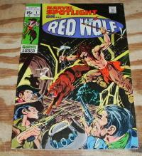 Marvel Spotlight #1 featuring Red Wolf comic book fine 6.0