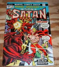 Marvel Spotlight on The Son of Satan #15 comic book near mint 9.4