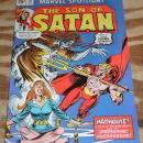 Marvel Spotlight on The Son of Satan #18 comic book very fine/near mint 9.0