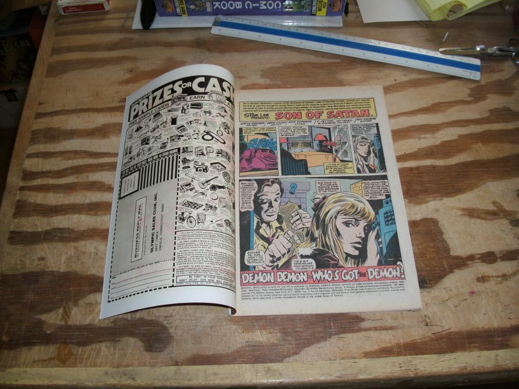 Marvel Spotlight on The Son of Satan #19 comic book near mint 9.4