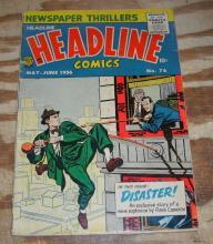 Headline Comics #76 comic book g/vg 3.0