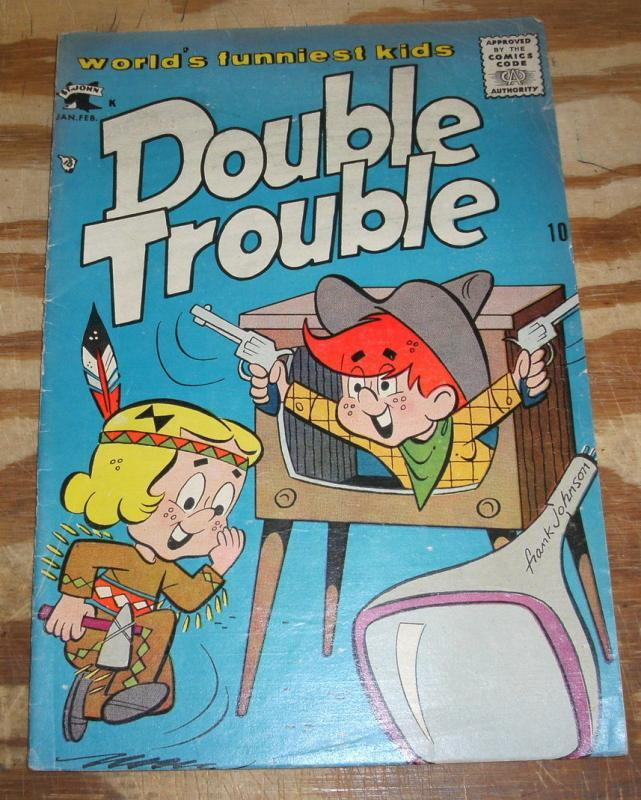 Double Trouble #2 comic book vg/fn 5.0