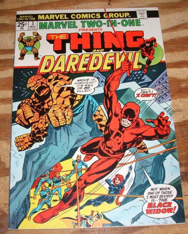 Marvel Two-In-One #3 very fine/near mint 9.0