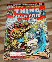 Marvel Two-In-One #7 comic book near mint 9.4