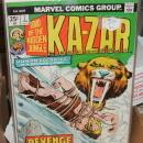 Kazar volume 1 5 issue assortment of comic books