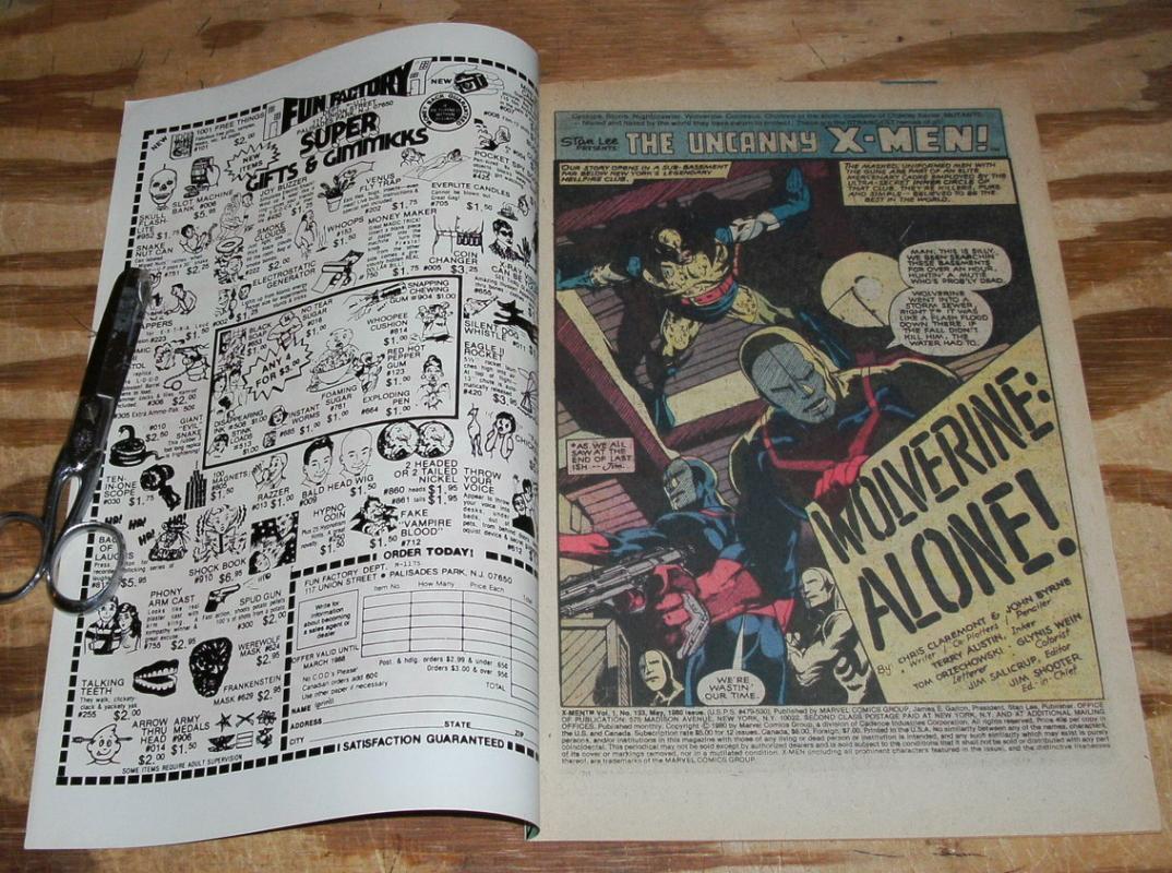 Uncanny X-men #133 comic book vf/nm 9.0