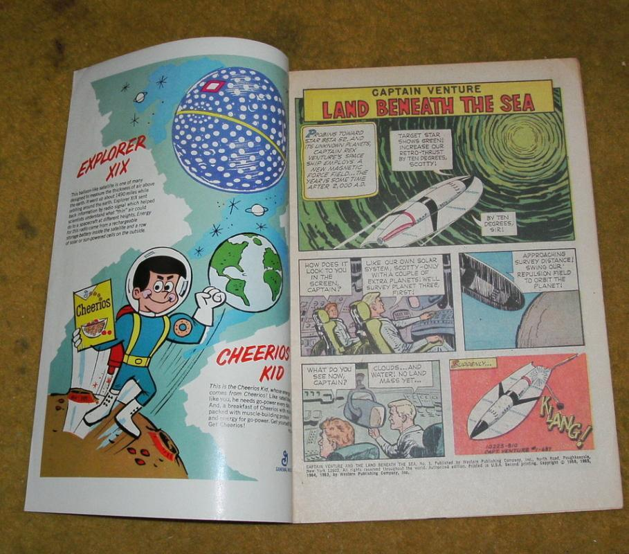 Captain Venture #1 comic book vg/fn 5.0
