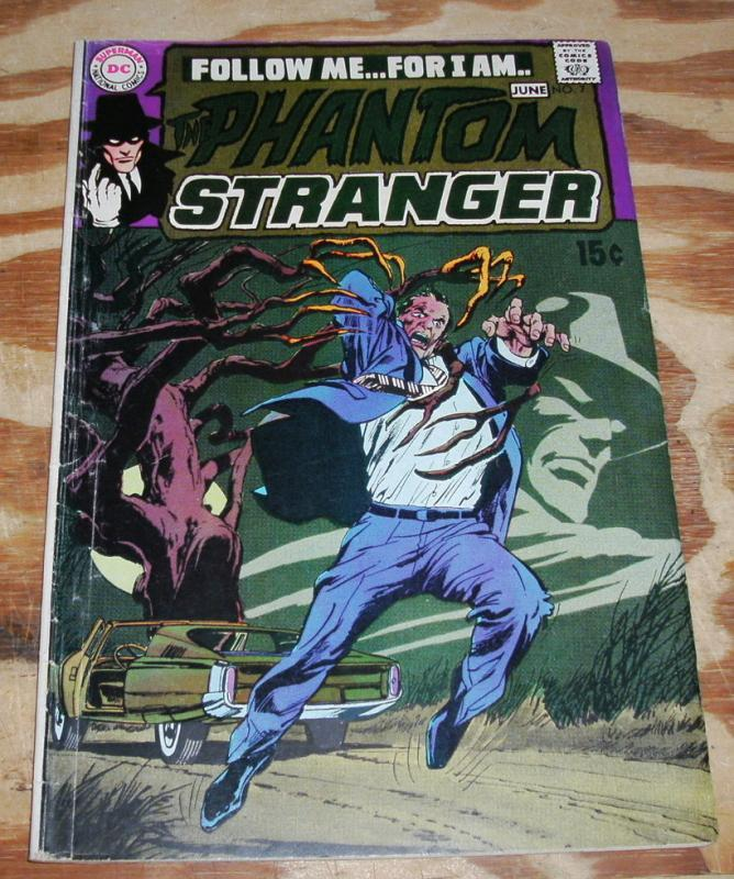 The Phantom Stranger #7 comic book very good/fine 5.0