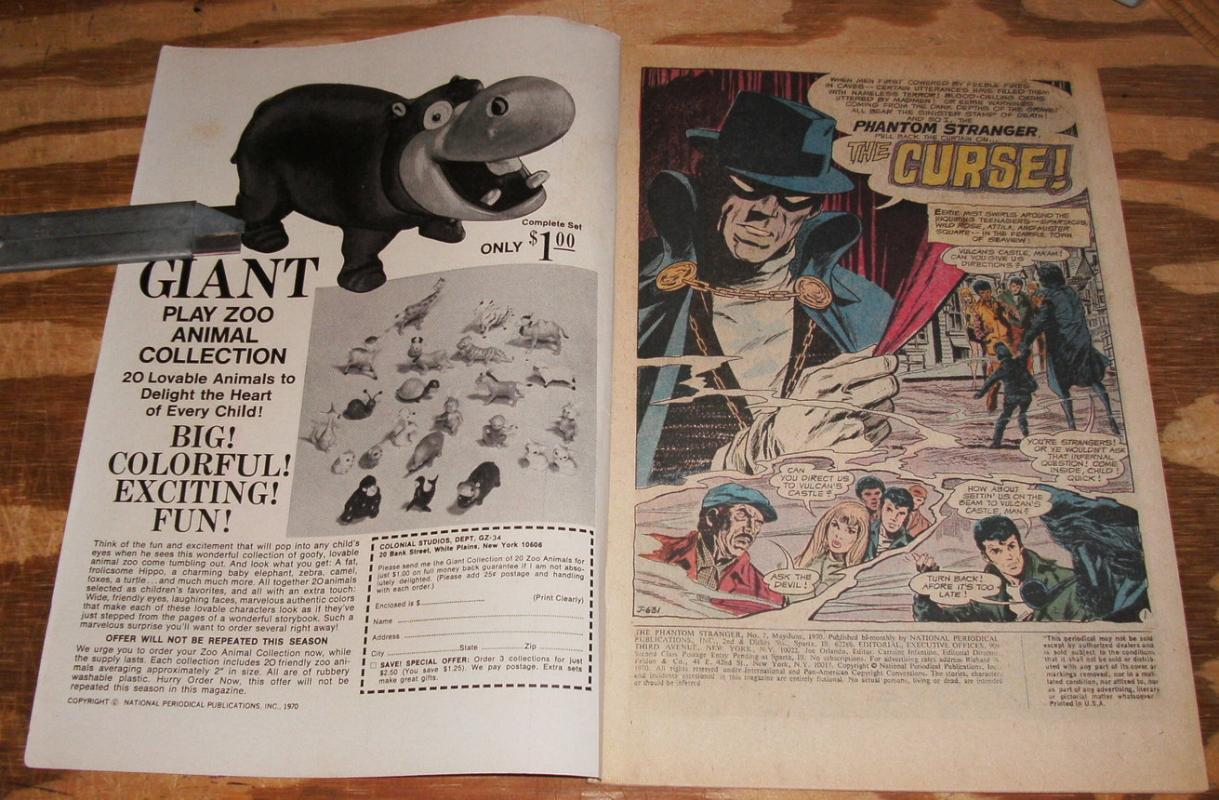 The Phantom Stranger #7 comic book very good/fine 5.0