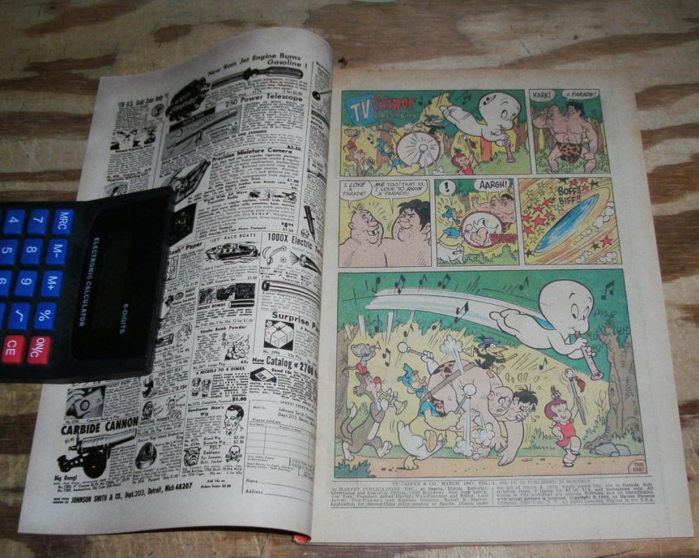 TV Casper and Company #15 comic book vf 8.0