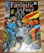 Fantastic Four #80  comic book very fine/near mint 9.0 crushed