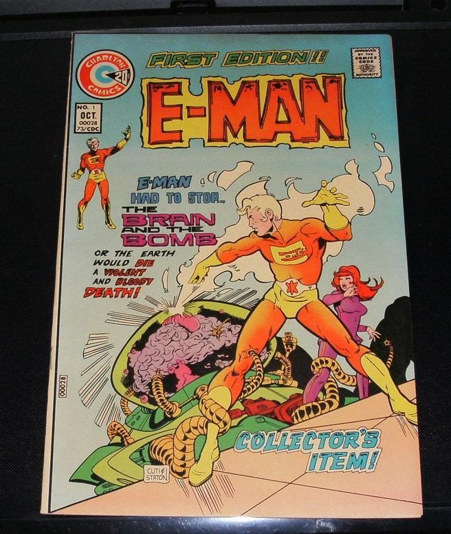 E-Man #1 comic vf/nm 9.0
