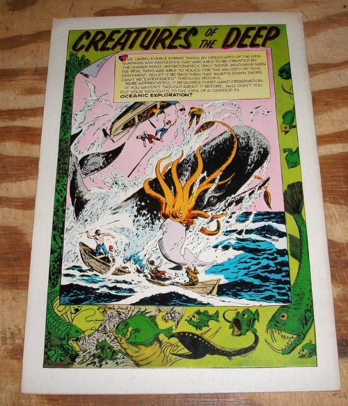 Voyage to the Deep #1  comic book very fine 8.0
